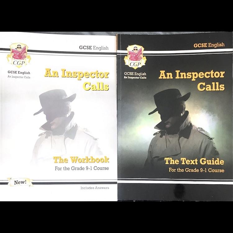 CGP A Inspector Calls Revsion&Workbook