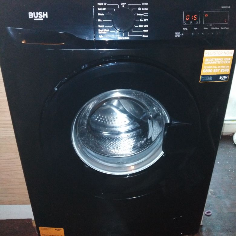 Black Bush Washing Machine