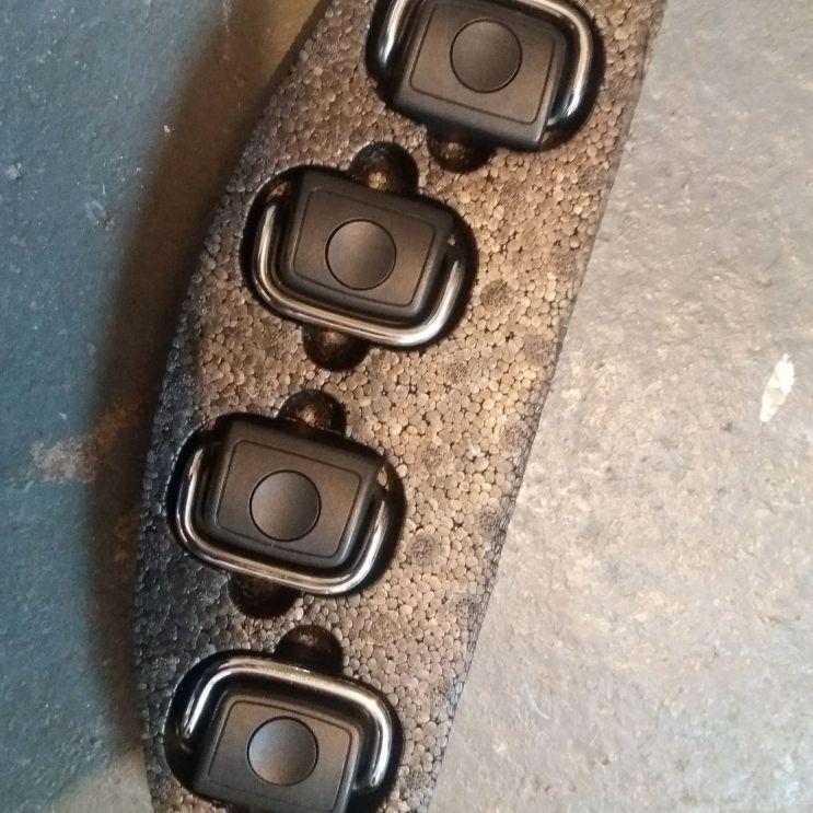 Luggage Tie eyelets