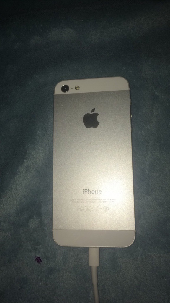 iPhone 5 silver 16gb