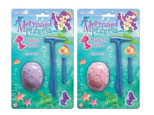 Mermaid magical stone- 2 assorted