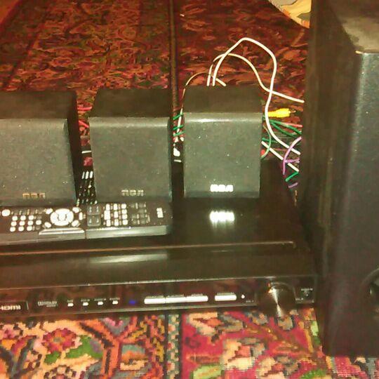 Rca surround sound system