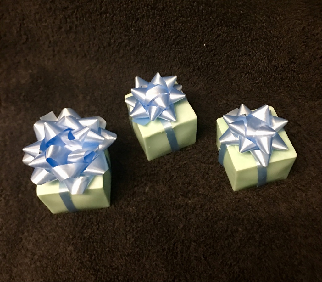 Christmas tree scented mini soap
