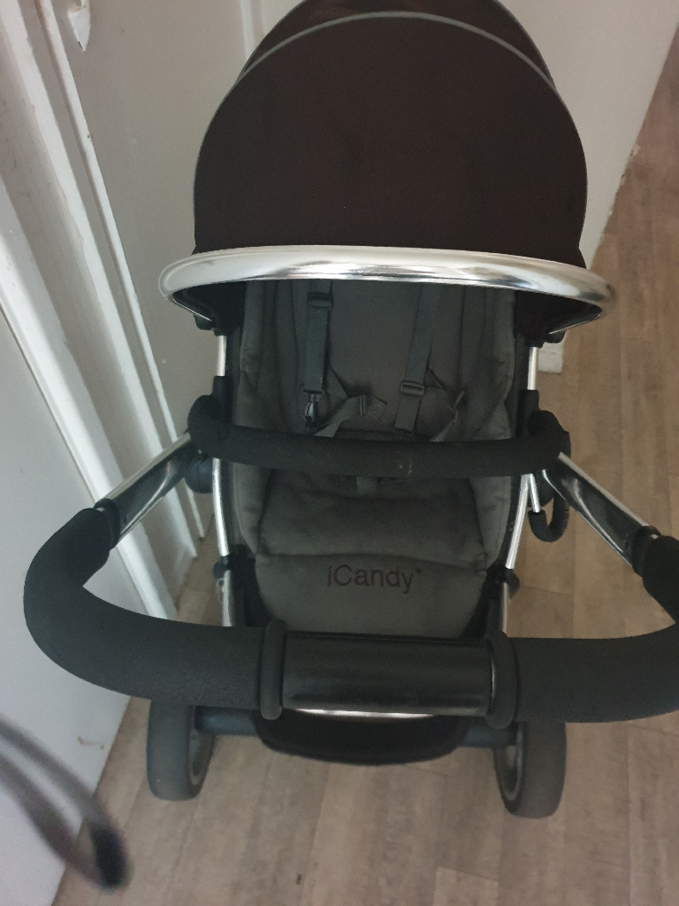 Icandy peach blackjack pushchair and carry cot