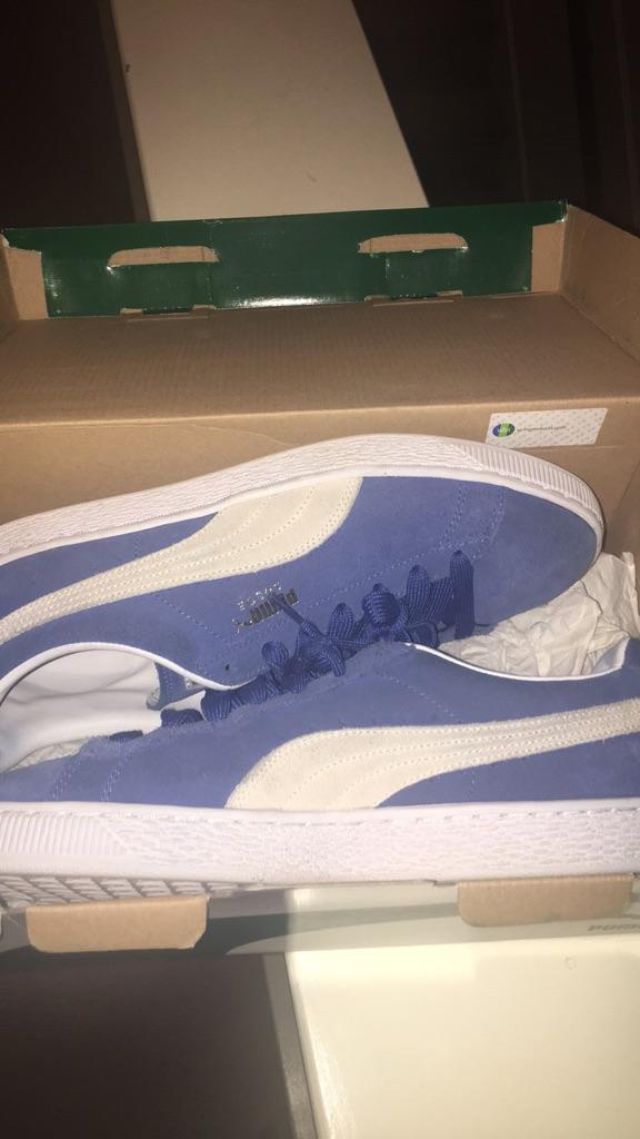 Puma Suede Classic (Olympic Blue)