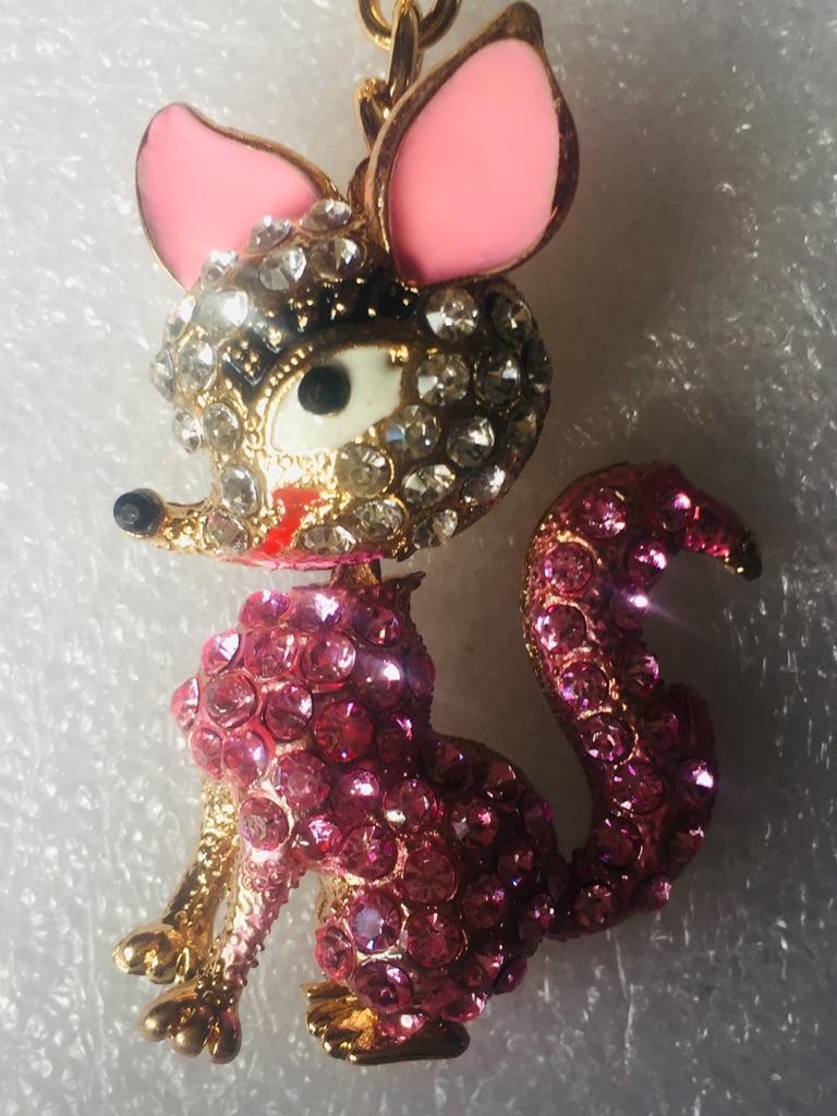 Keys ring holder with fox **** 2