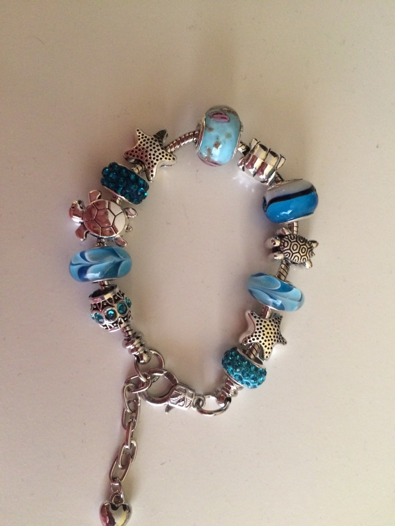 Lovely beach themed bracelet