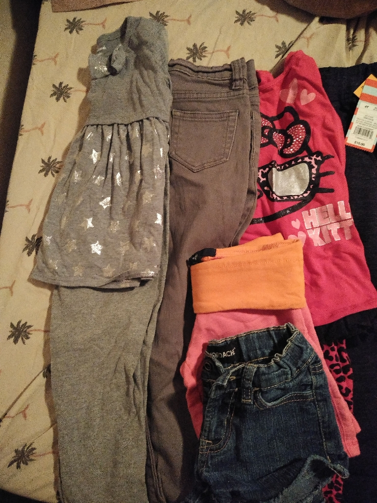 Toddler girl's clothes