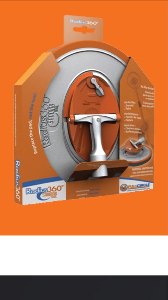 Radius 360-Drywall Sanding Tool
