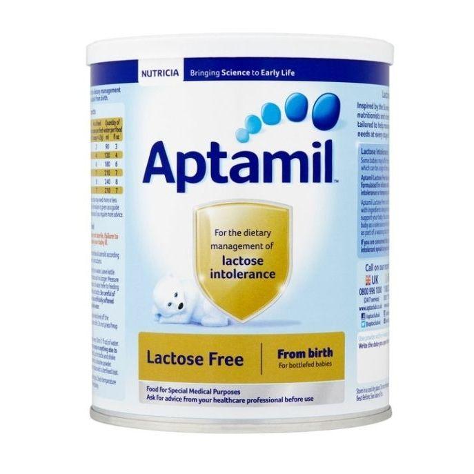 2 x Aptamil Lactose Free Baby Milk