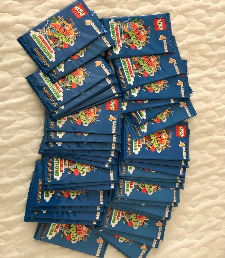42 Unopened Lego Packs