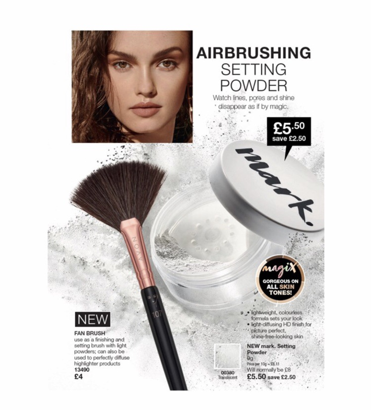 Beauty products by Avon