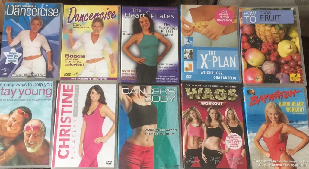 X14 exercise and health DVD's all brand new and factory sealed