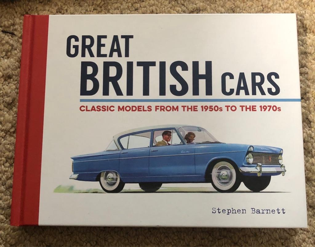 HARDBACK GREAT BRITISH CARS BOOK