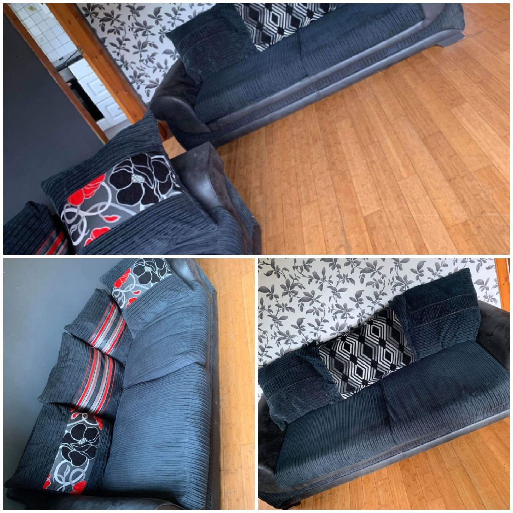 2x3seater sofa for sale 250