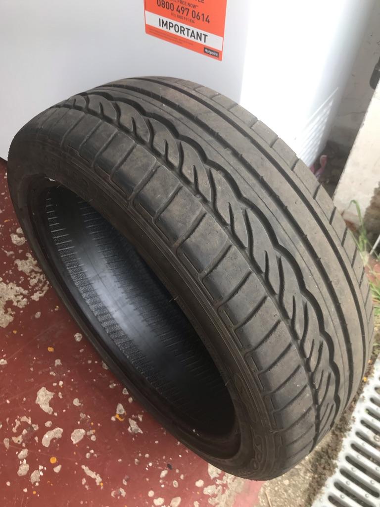 205/45 R17 (run flat) part worn tyre