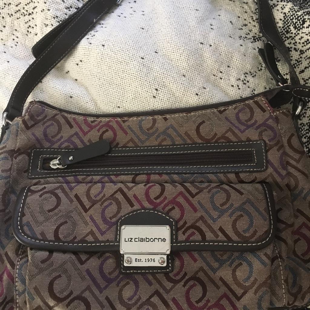 Brand new Liz Claiborne purse. Brown in color. $30 OBO