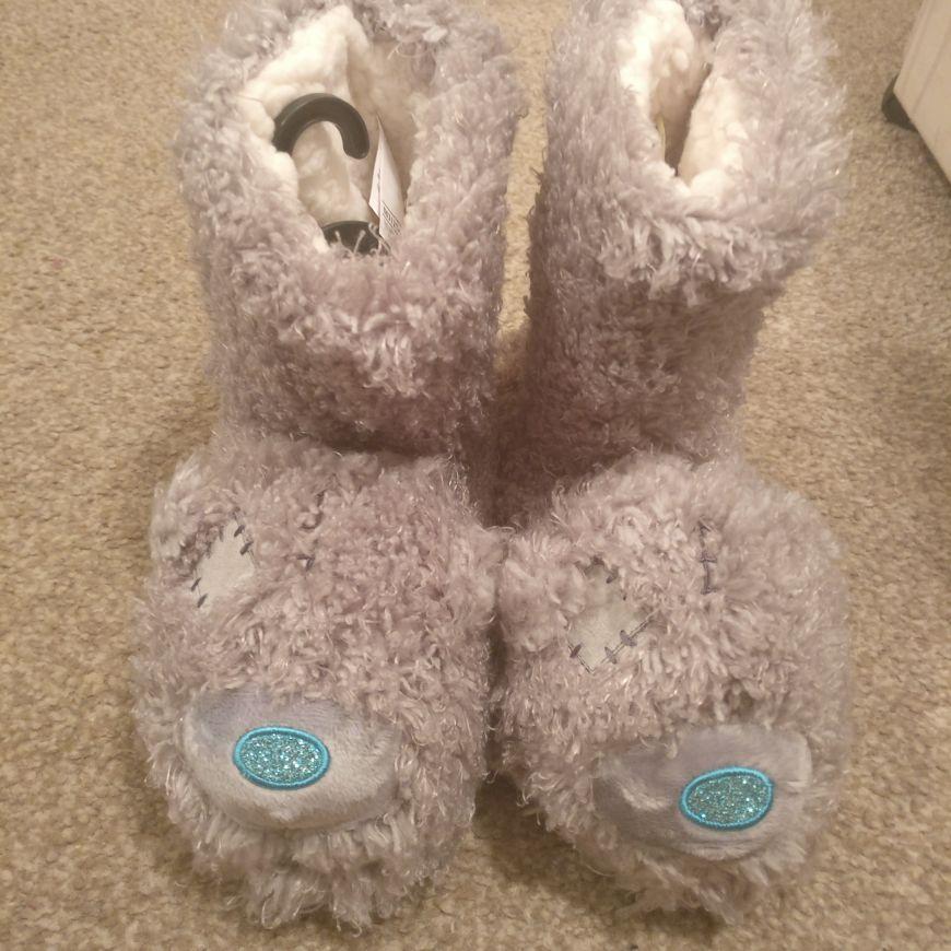 Tatty Bear boot slippers