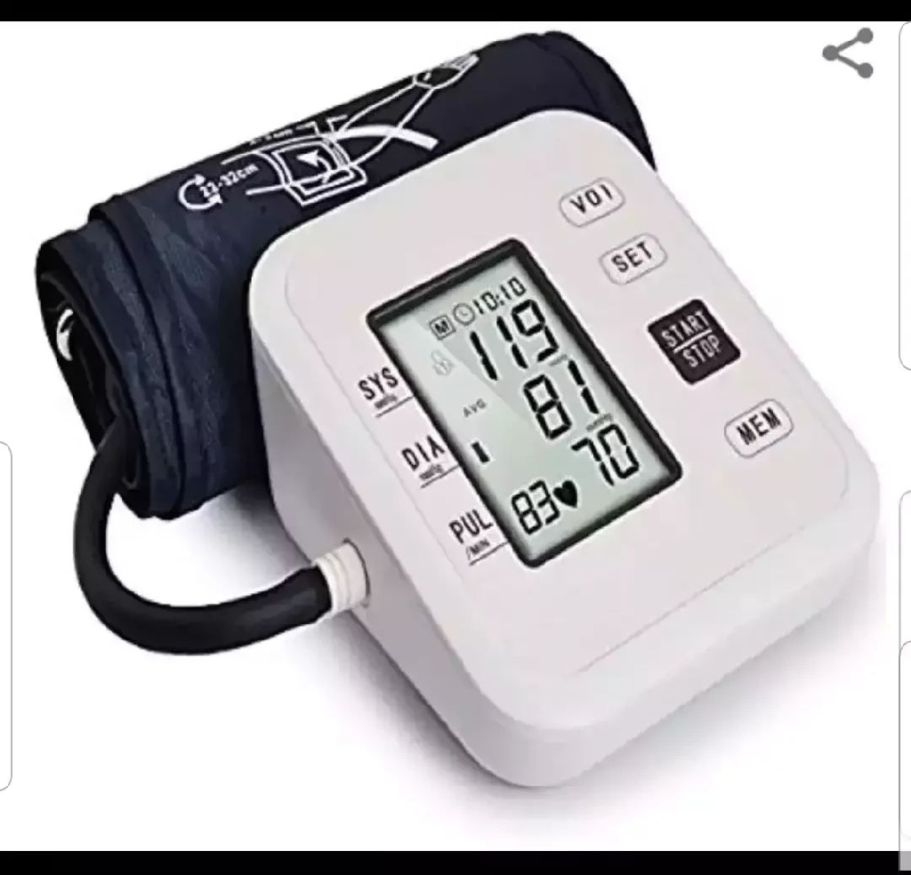 Electric Blood Pressure Monitor W/ Voice
