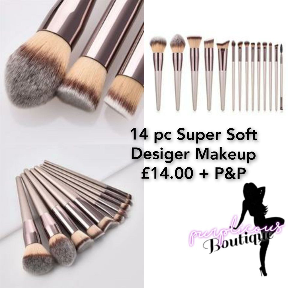 14 pc Super Soft Desiger Makeup