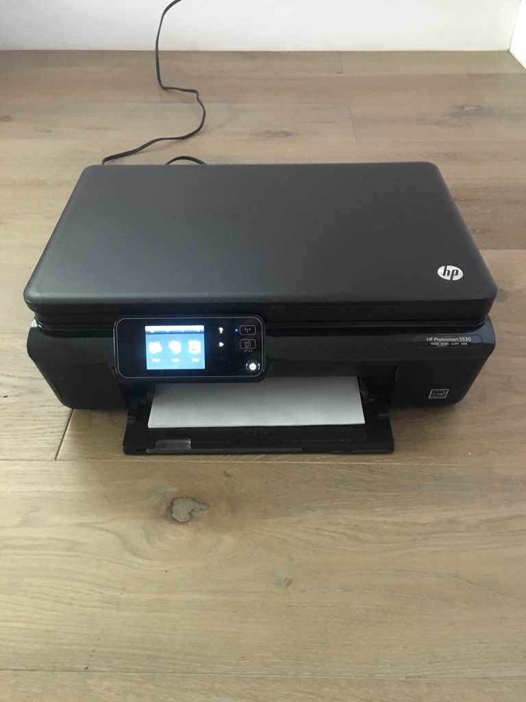 black hp wireless all-in-one printer