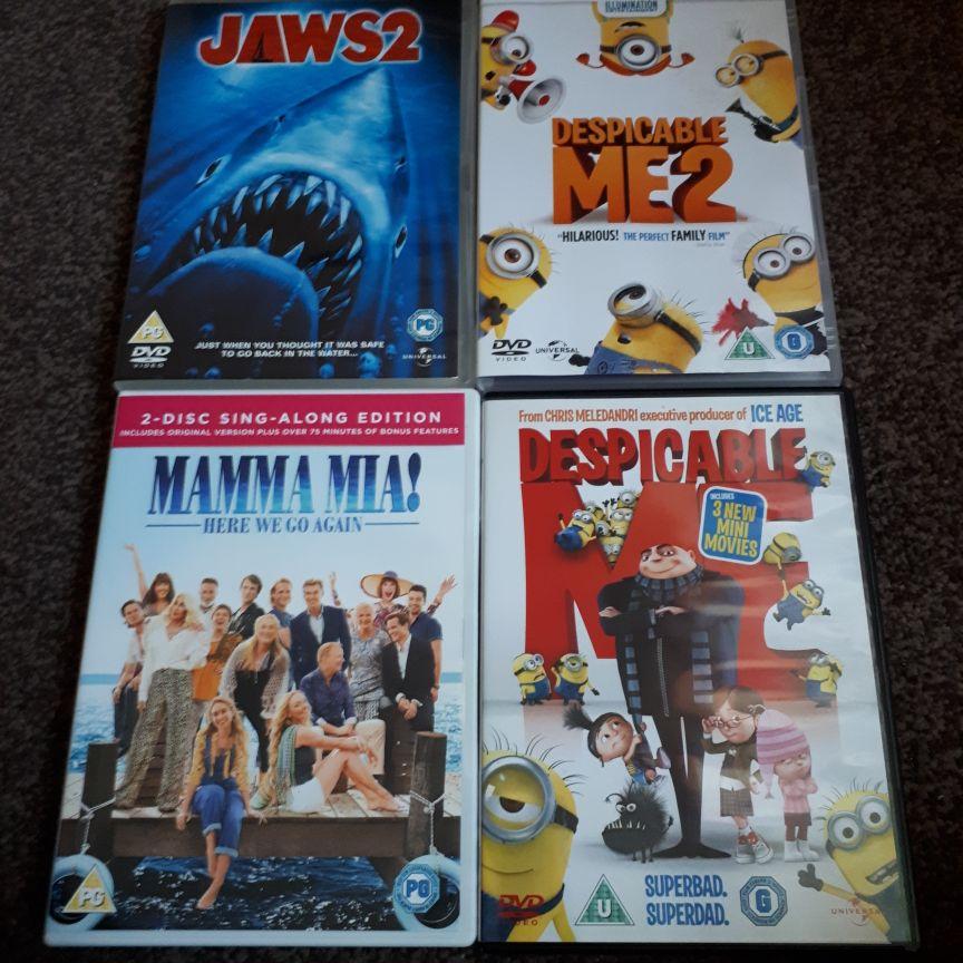 Children DVDS x6