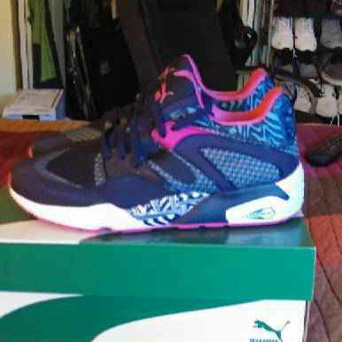 Puma Blaze of Glory Woven Running Sneakers