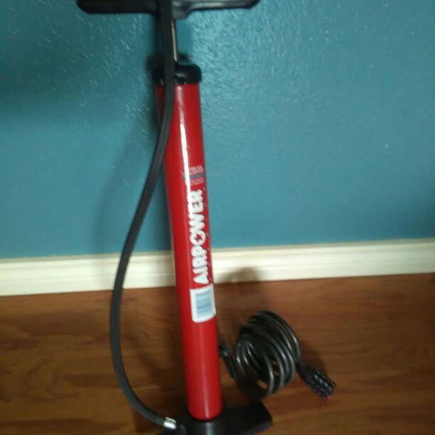 Bike Pump & Lock