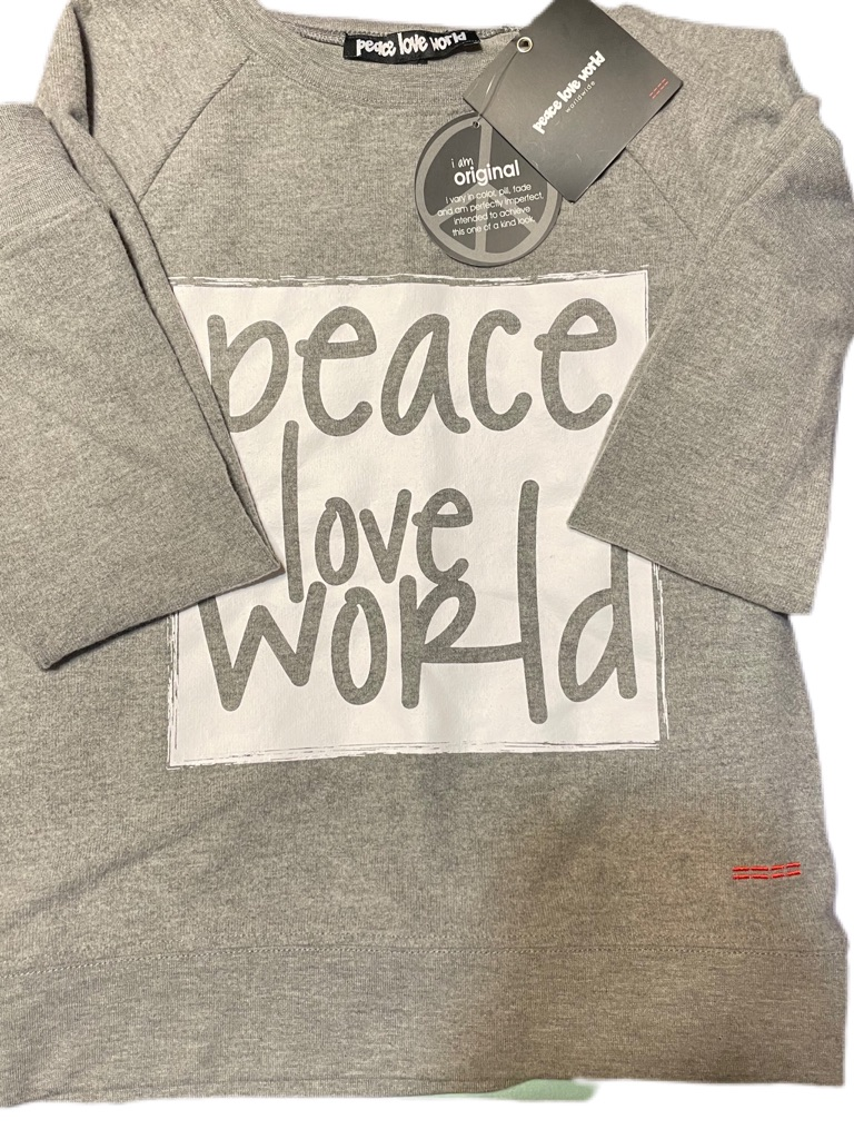 Peace Love World Sweatshirt