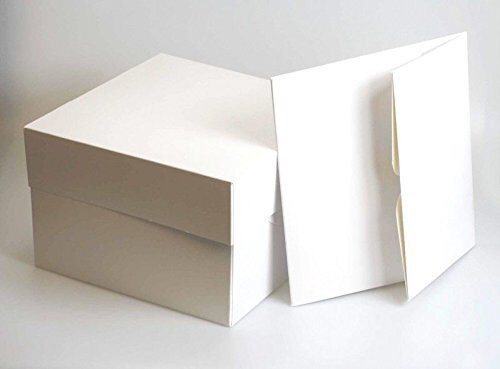 200 White cake boxes