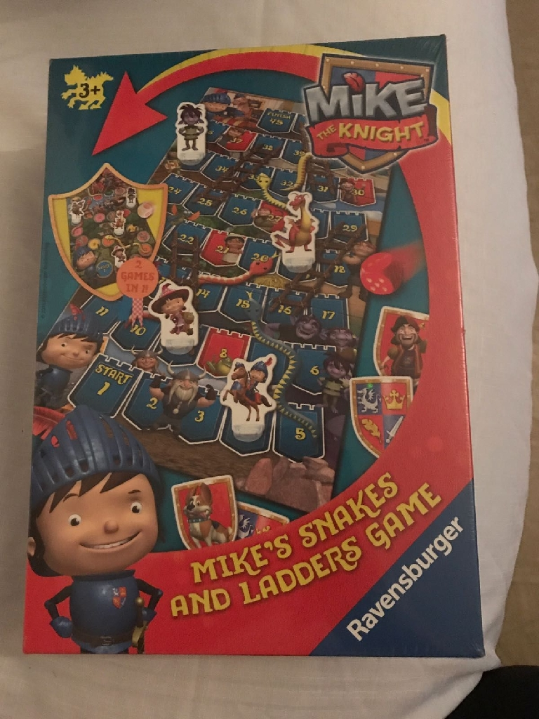 Mike the knight game