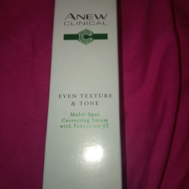 Anew clinical multi spot correcting serum