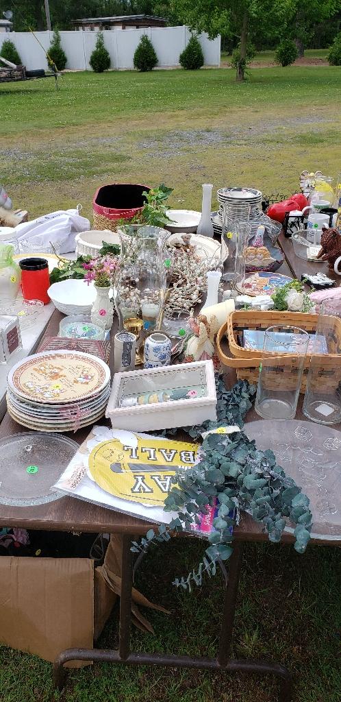 Yard sale leftovers