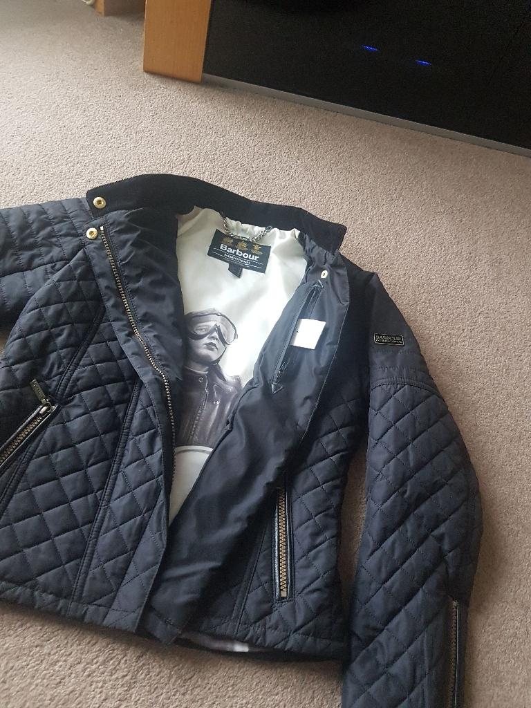 Barbour International Blackstreak jacket UK 8