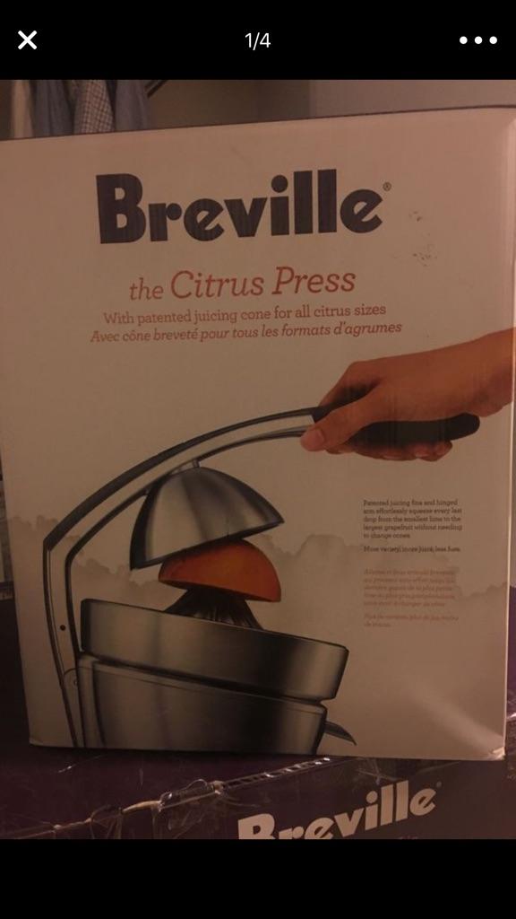 Breville The Citrus Press 800CPXL Motorized Juicer