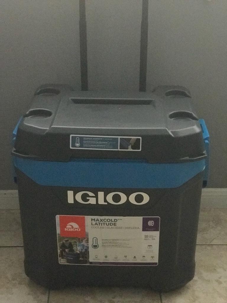 New igloo cooler