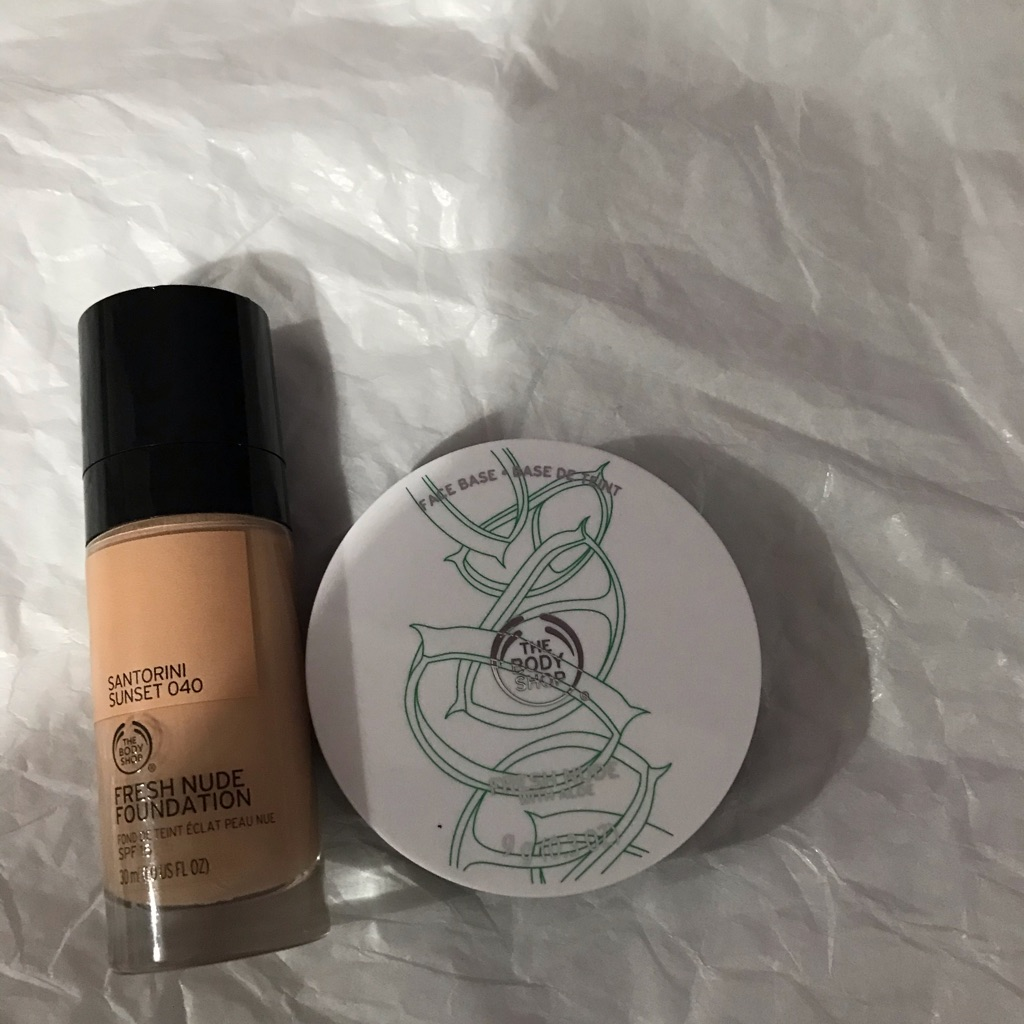 Body shop nude foundation and base