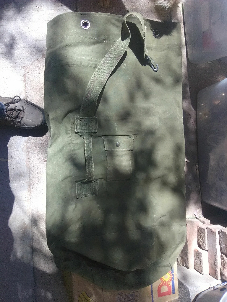 1 old us army bag