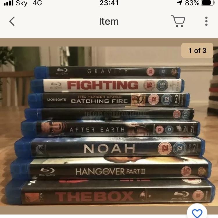 Check out Blu-ray bundle job-lot, Movies, DVDS, Films. Cheap! BUY NOW! https://www.ebay.co.uk/ulk/itm/312983331778 @eBay