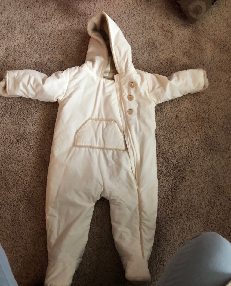 Old navy baby snow suit