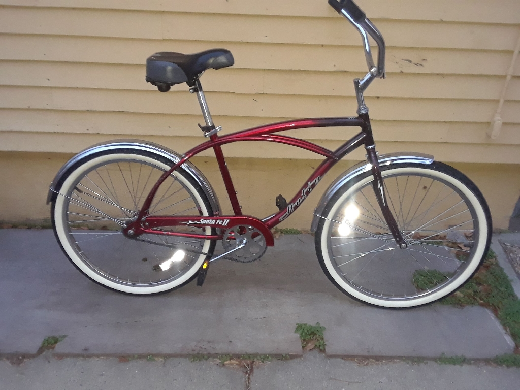 26inch Santa Fe beach cruise bike