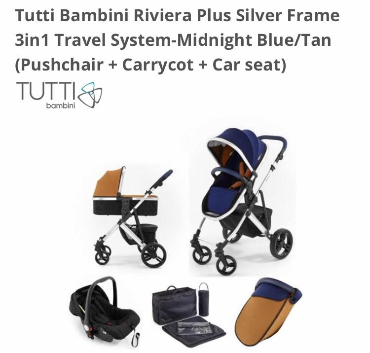 Tutti Bambini Riviera Travel Set