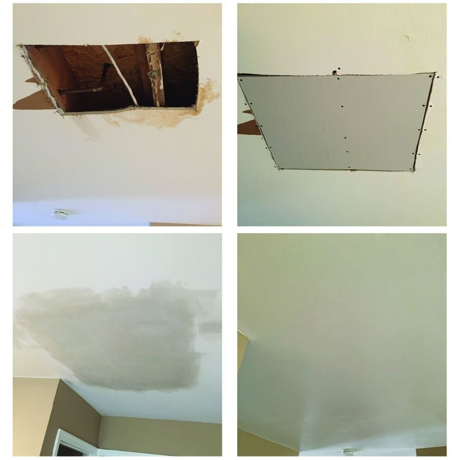 Drywall Repair Reparo Drywall