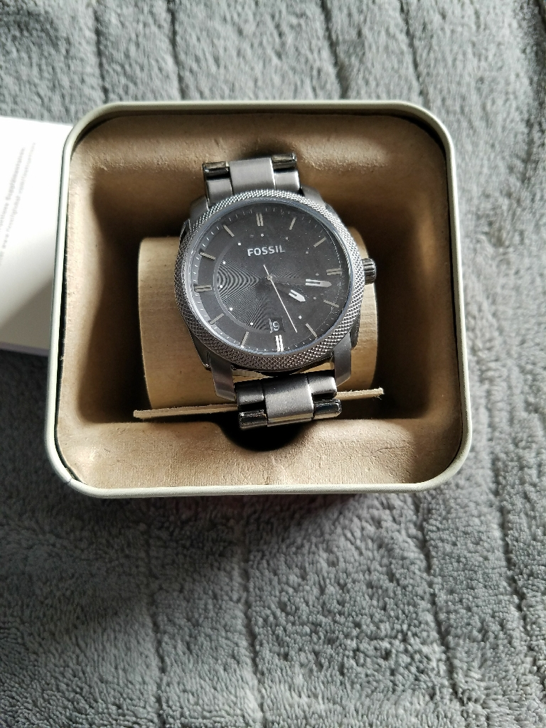 Fossil All stainless steel mens watch