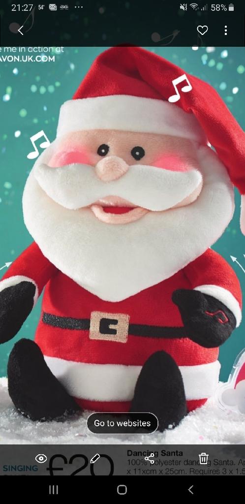 Singing Dancing Santa