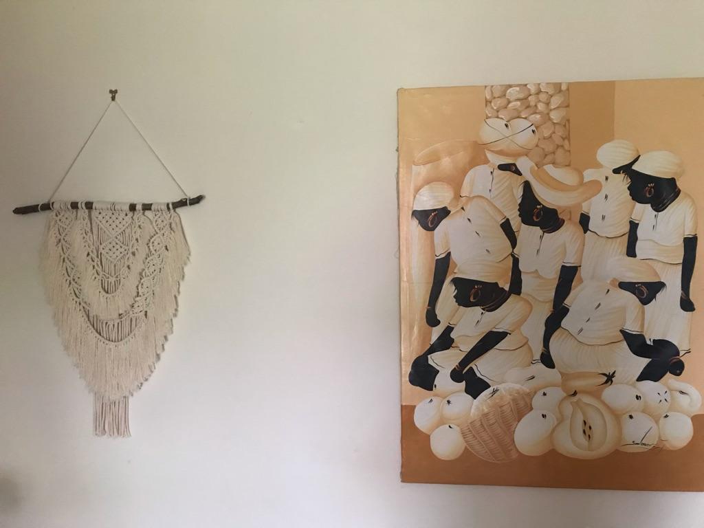 Handmade wall hanging boho macrame
