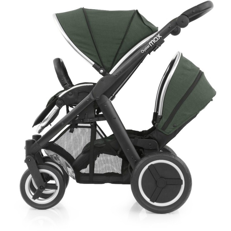 Oyster max 2 tandem double pram