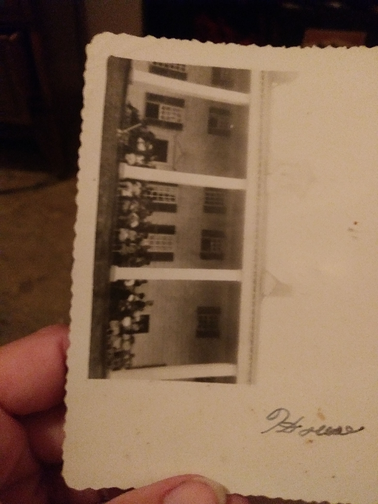 Original photos from the 40s of historical land marks