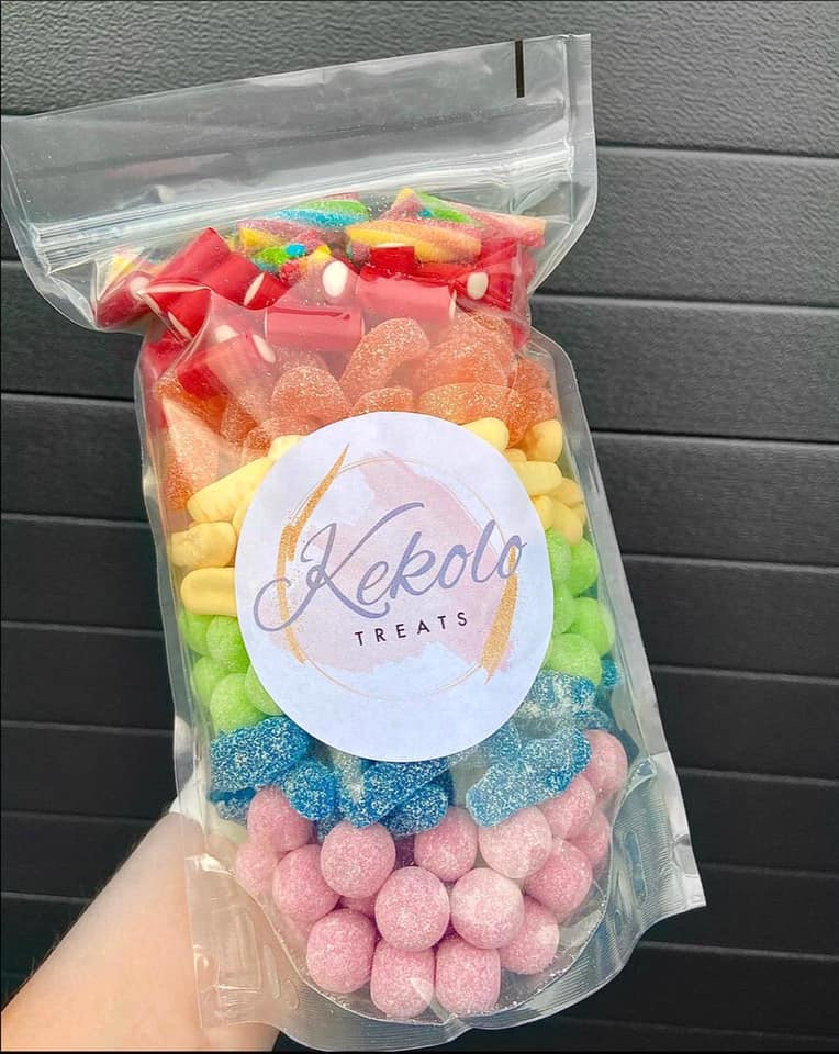 Rainbow sweet mix