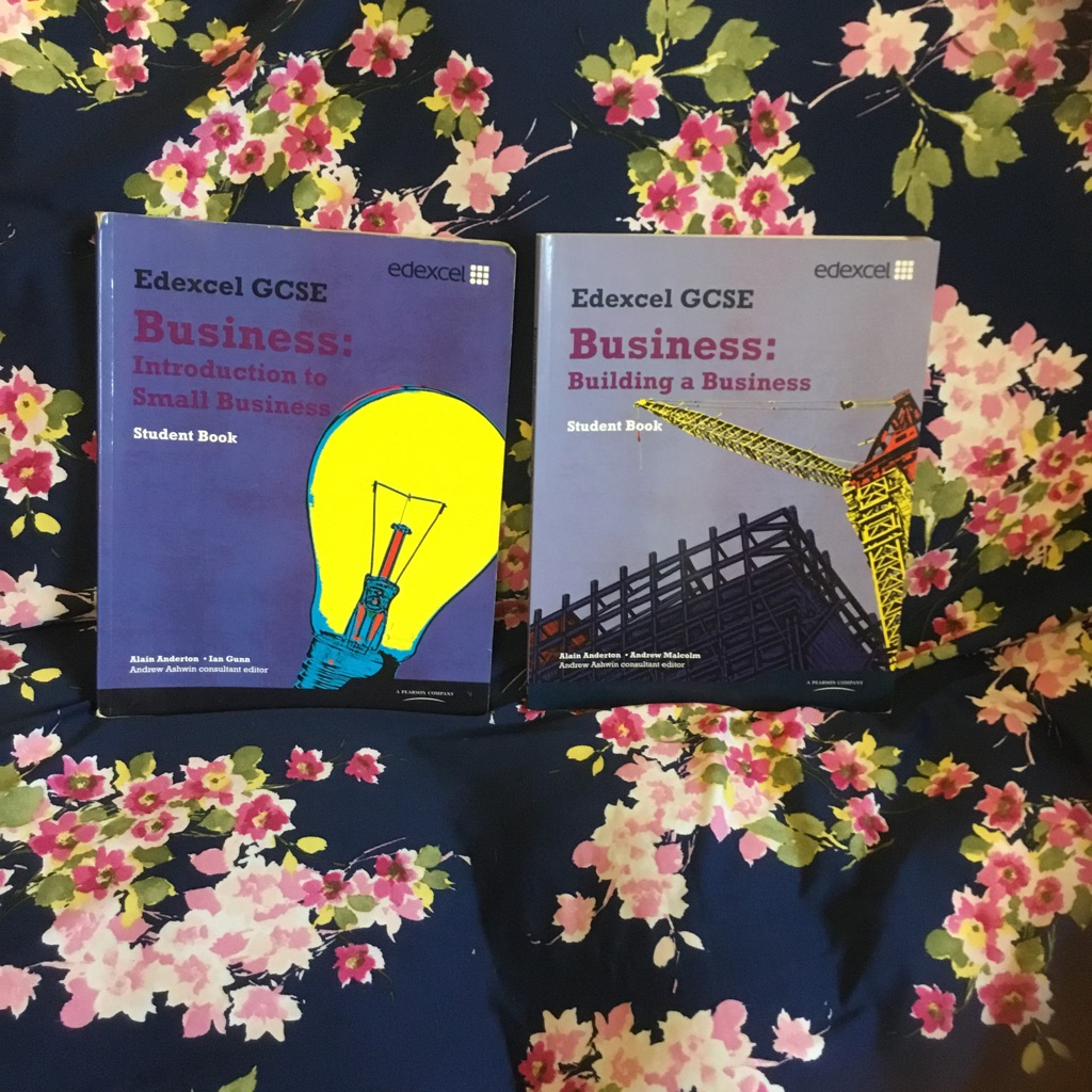 GCSE Edexcel business textbook year 1 and 2